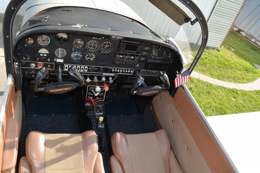 great shape 1977 Grumman Cheetah AA5A aircraft