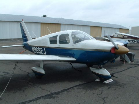 hangared 1967 Piper Cherokee 180 PA aircraft for sale