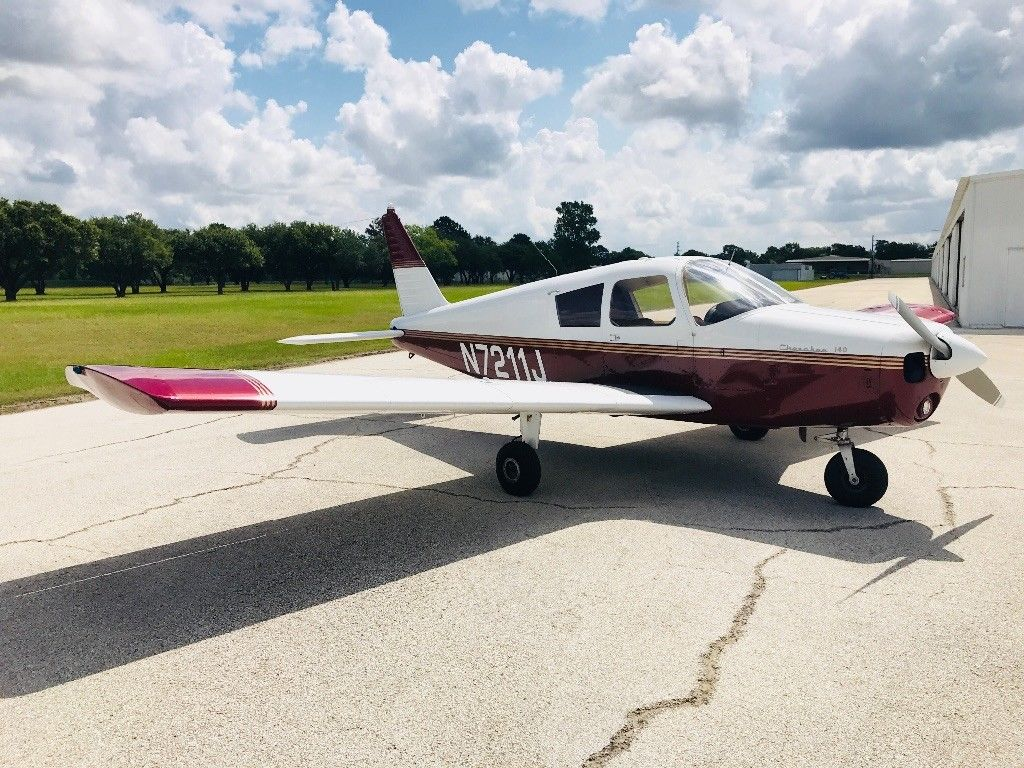 low hours 1968 Piper Cherokee 140 aircraft for sale
