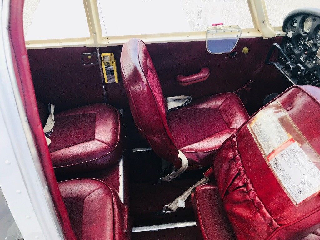 low hours 1968 Piper Cherokee 140 aircraft