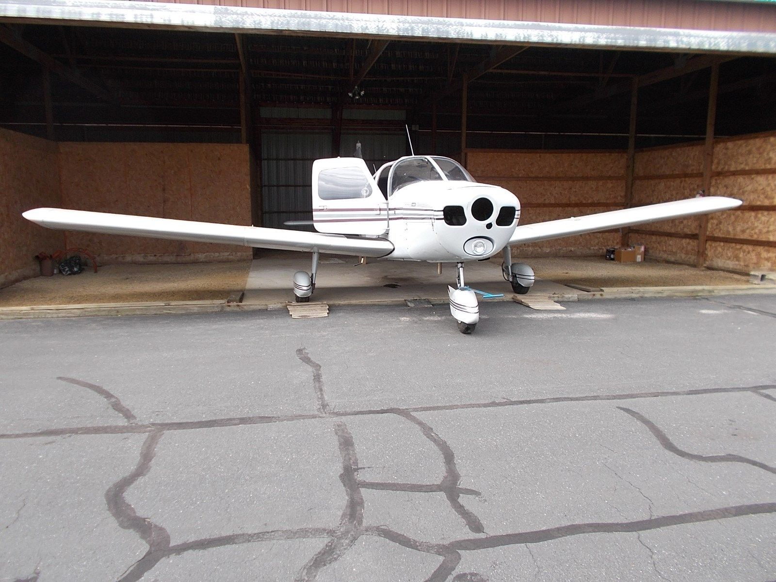 missing airframe 1965 Piper Cherokee 140 airplane