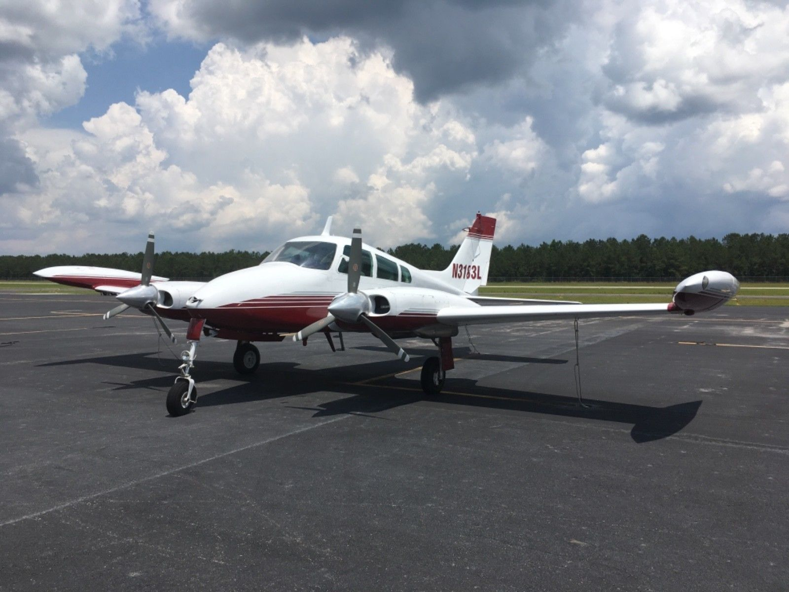 never damaged 1965 Cessna 310J aircraft for sale