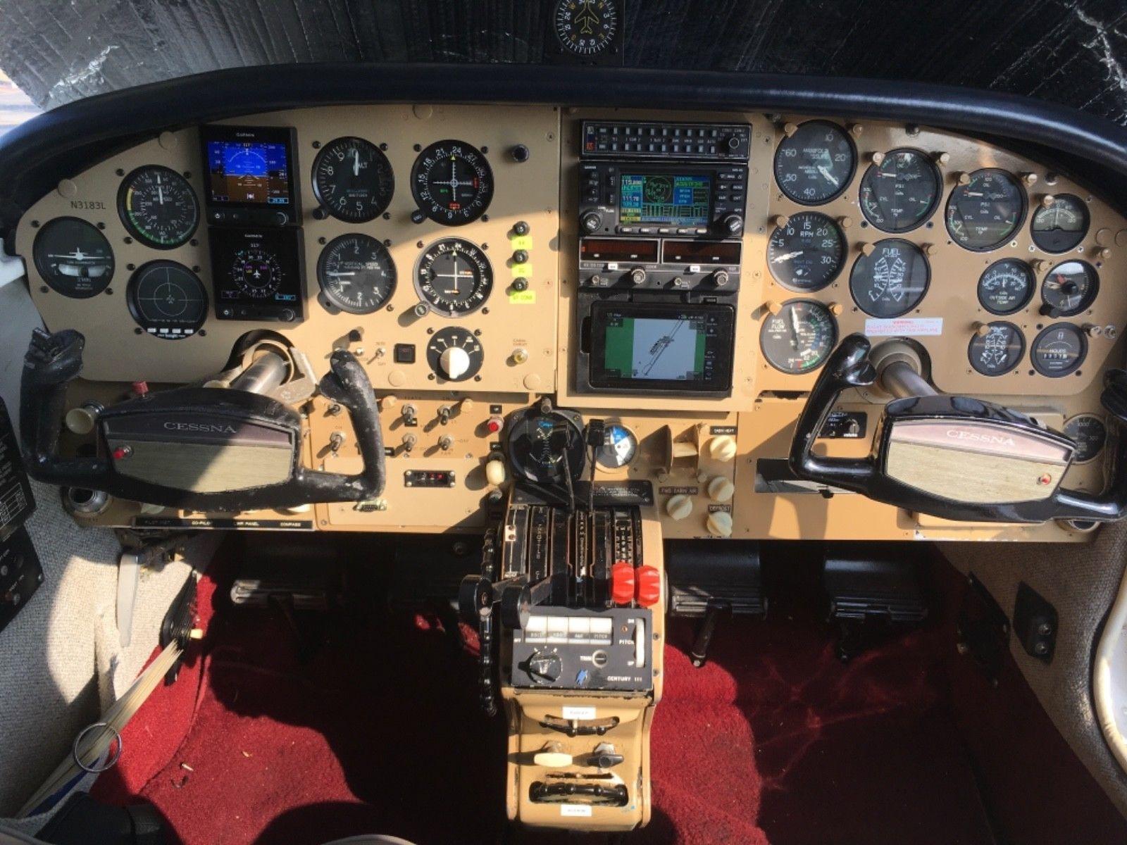 never damaged 1965 Cessna 310J aircraft
