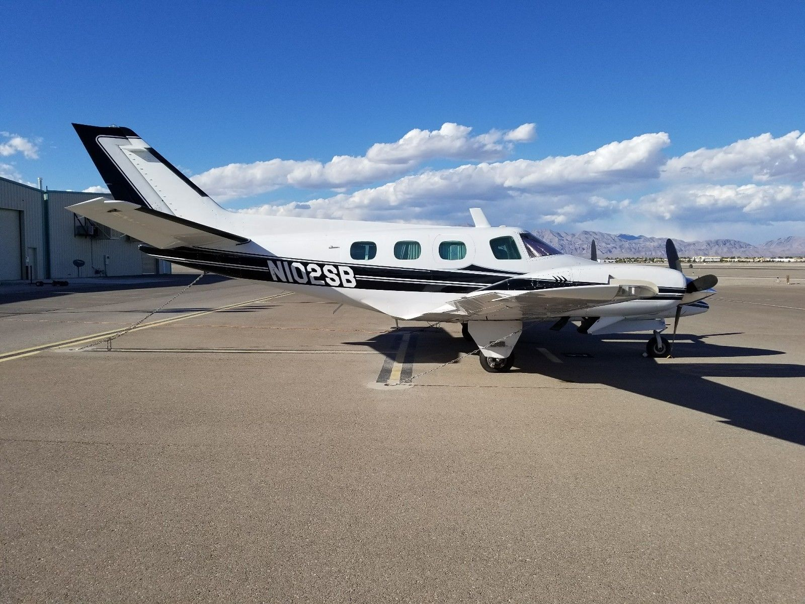 no corrosion 1976 Beechcraft Duke B60 aircraft for sale