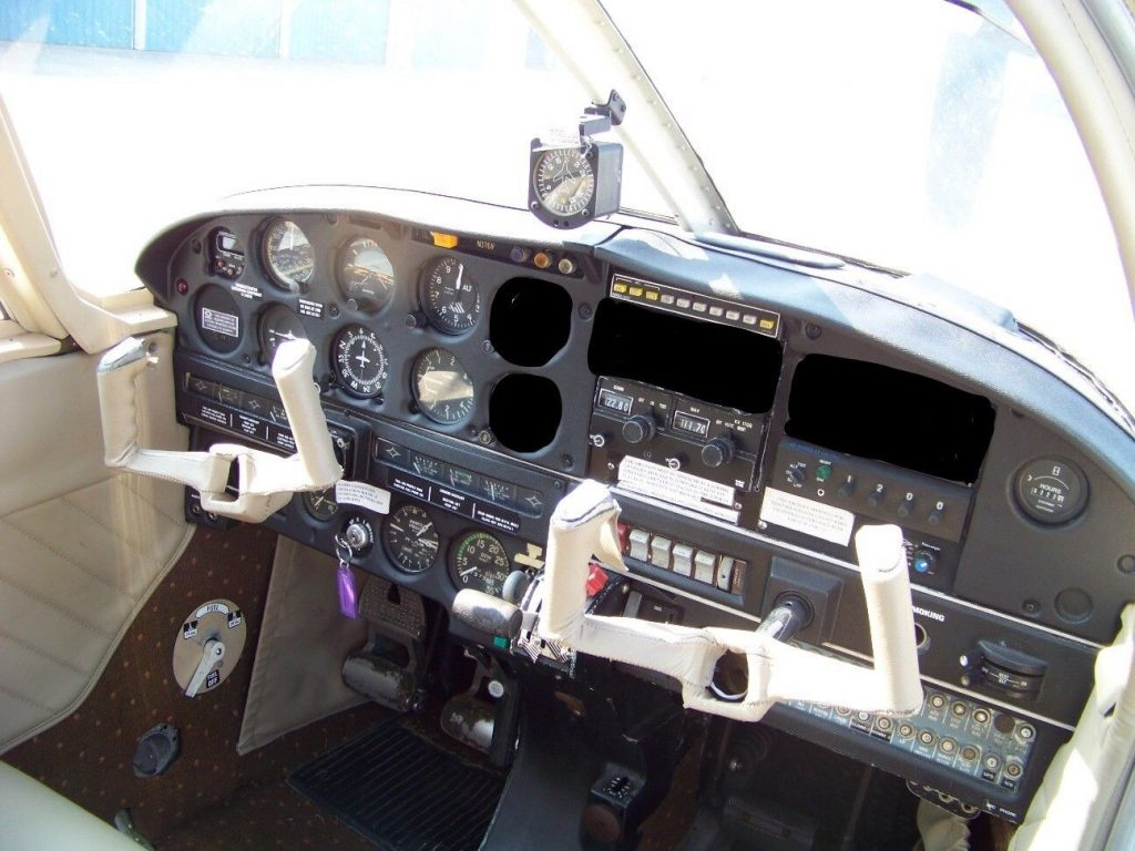 repaired 1979 Piper Pa 29R 200 aircraft