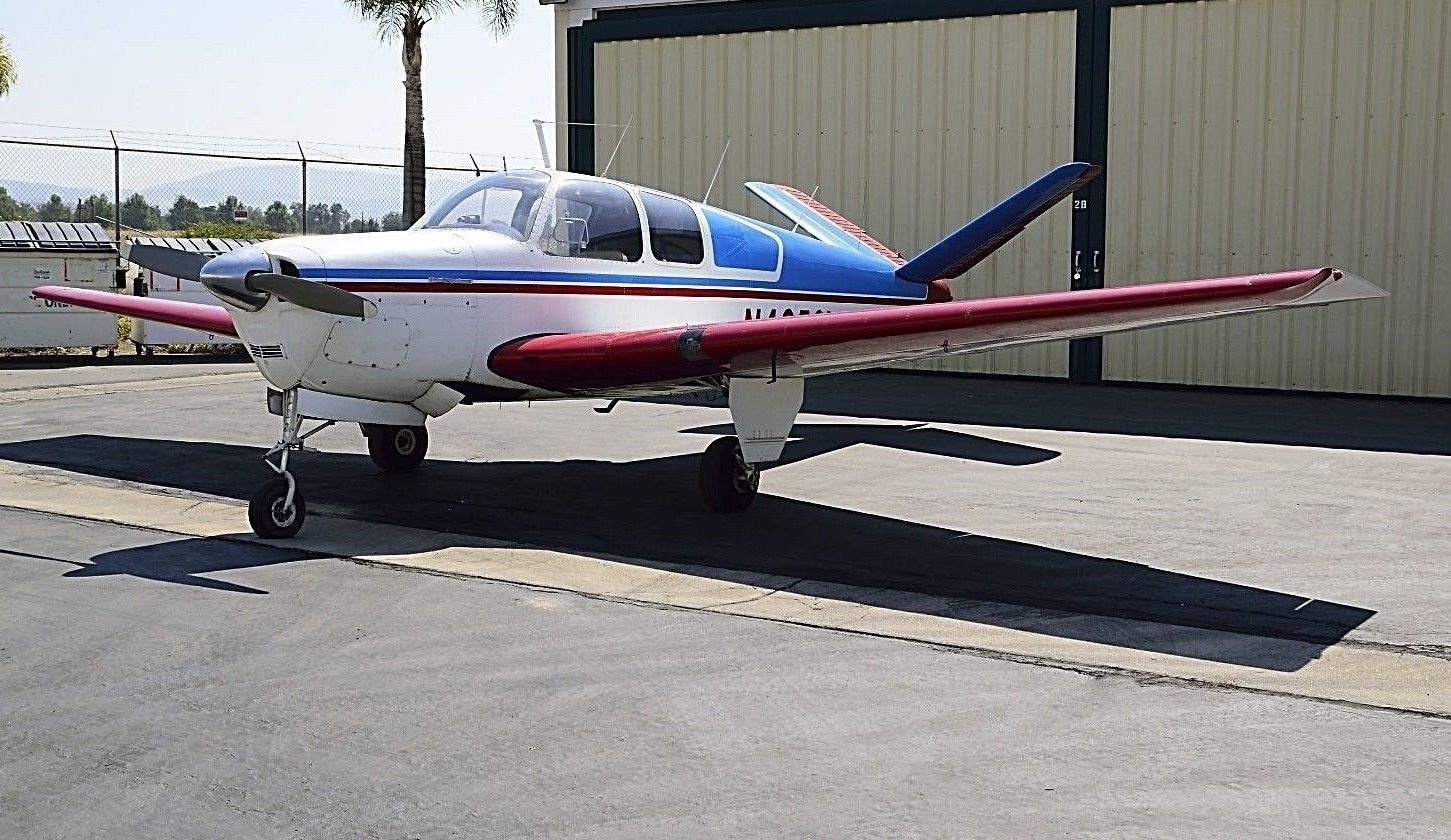 very nice 1947 Beechcraft Bonanza 35 V TAIL for sale
