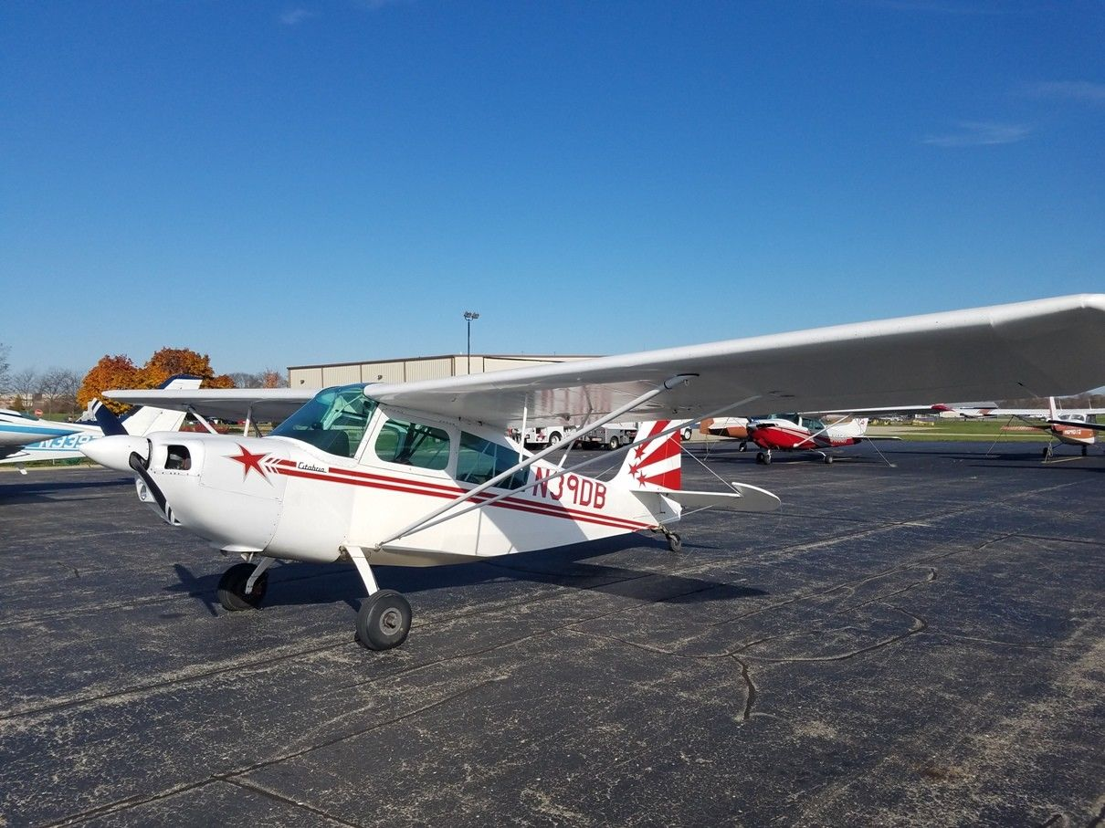 aerobatic 1969 Citabria Champion aircraft for sale