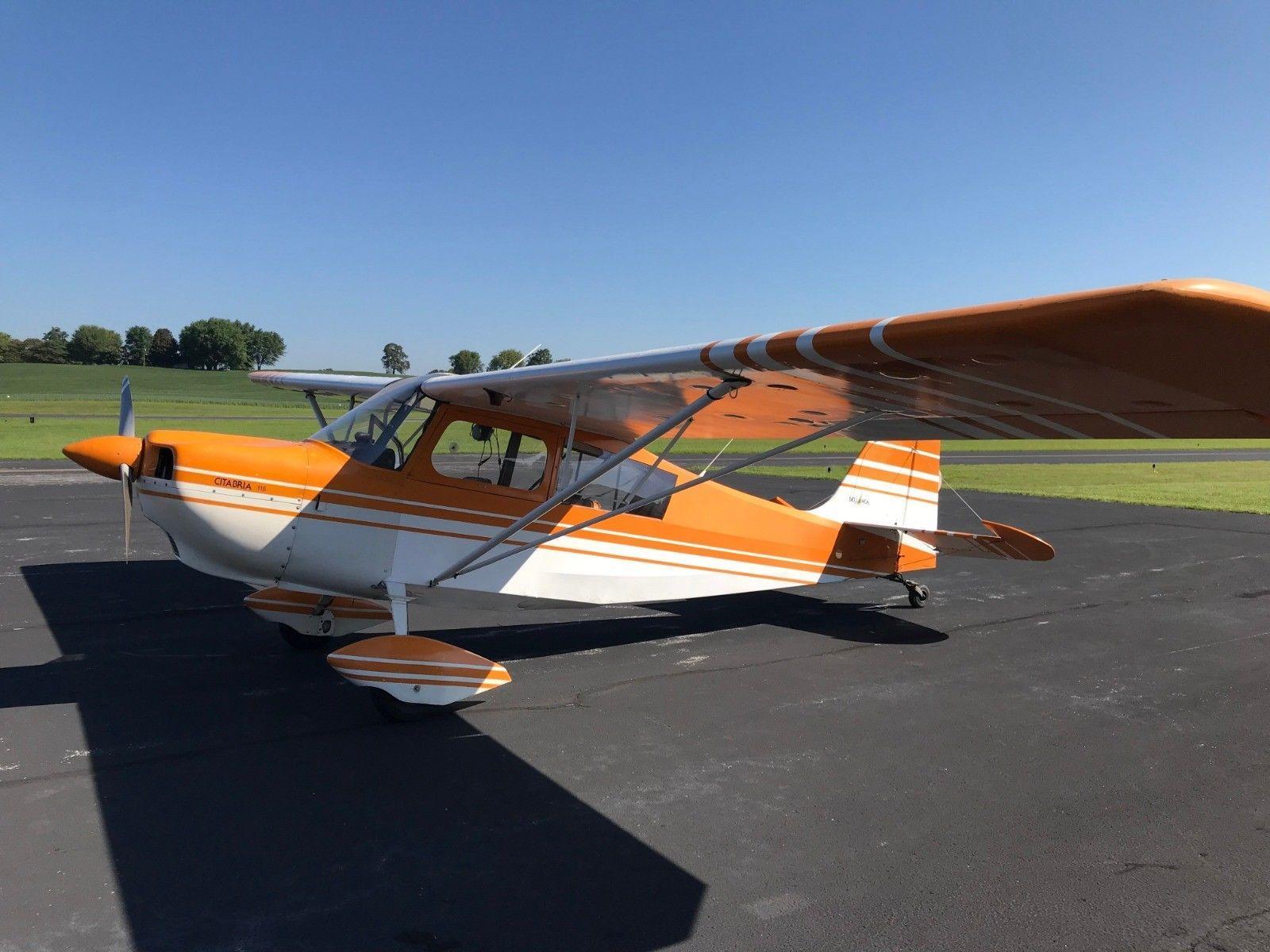 low hours 1978 Citabria 7ECA aircraft for sale