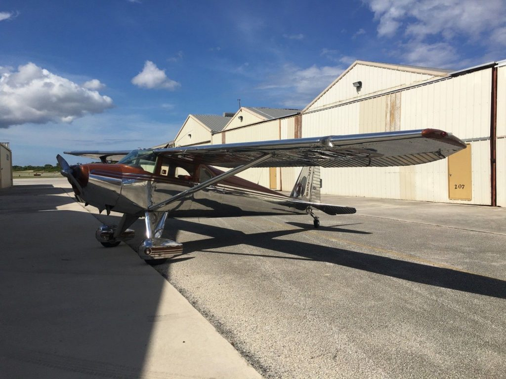 new custom covers 1949 Luscombe 8F with aircraft