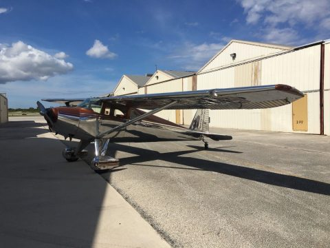 new custom covers 1949 Luscombe 8F with aircraft for sale