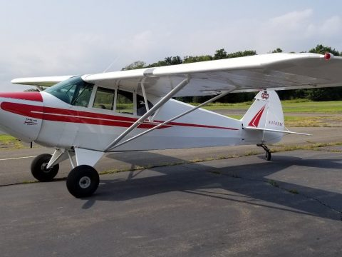 powerful 1947 Piper PA-12 Super Cruiser aircraft for sale