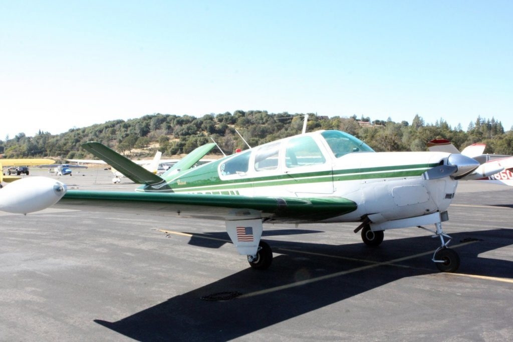 ready to fly 1947 Beechcraft Bonanza 35 aircraft