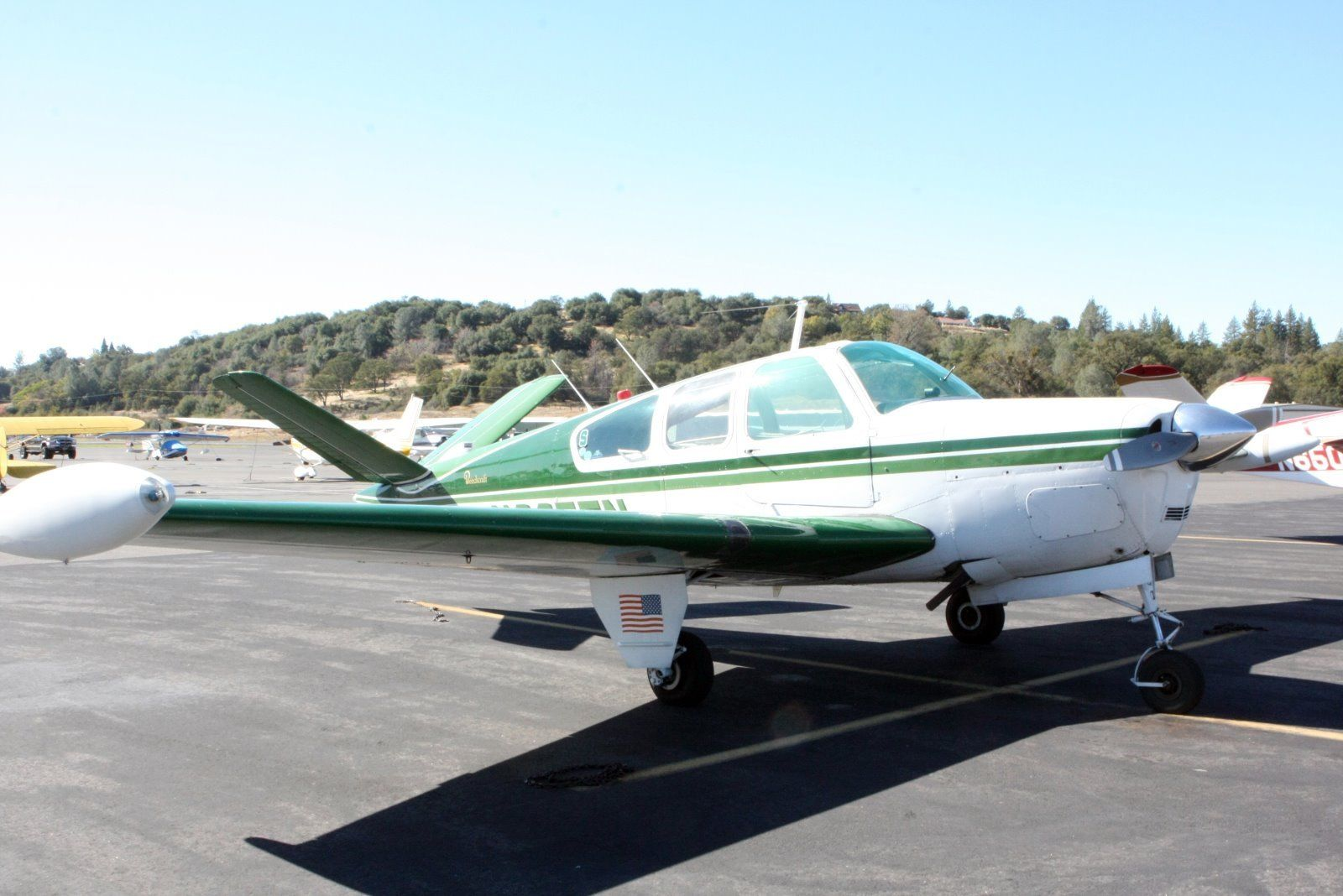 ready to fly 1947 Beechcraft Bonanza 35 aircraft for sale