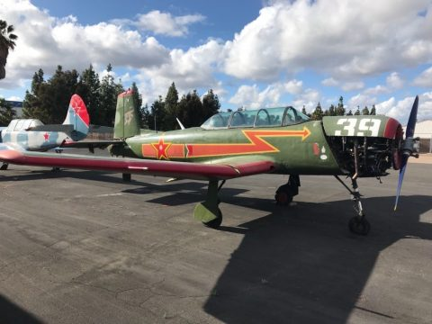 small damage 1975 Nanchang CJ 6 project for sale