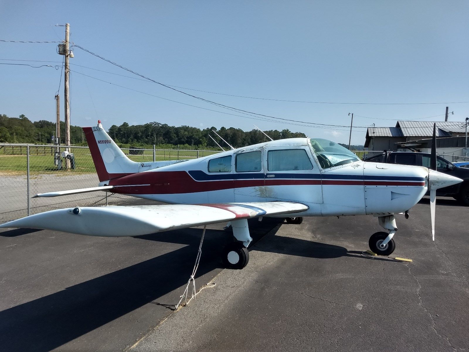 solid 1980 Beechcraft C23 SUNDOWNER aircraft for sale