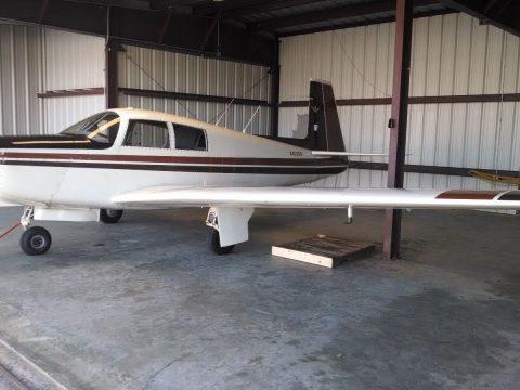 clean 1968 Mooney M20C Ranger Airplane for sale