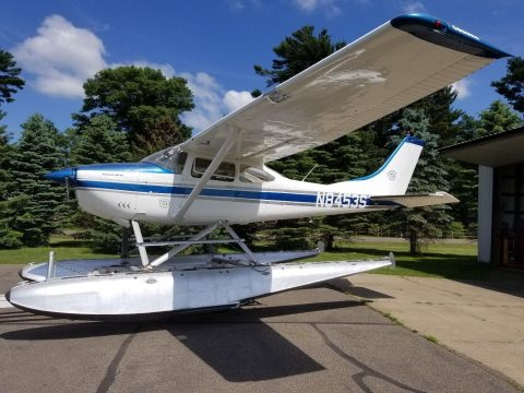 hangared 1966 Cessna 182H Seaplane aircraft for sale