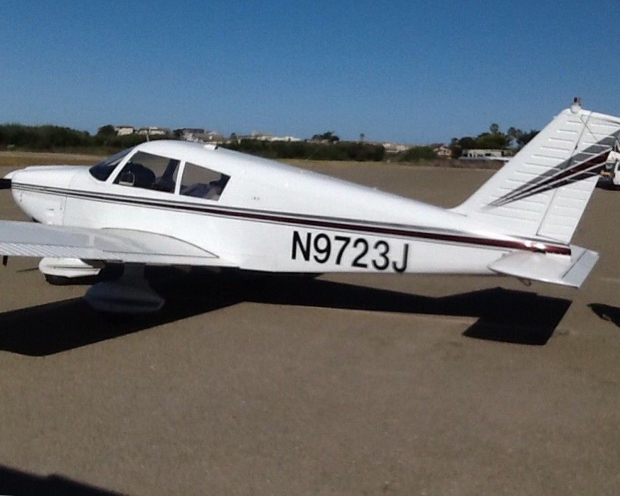 hangared 1967 Piper Cherokee aircraft for sale