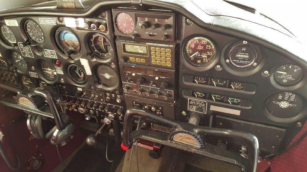 hangared 1967 Piper Cherokee aircraft
