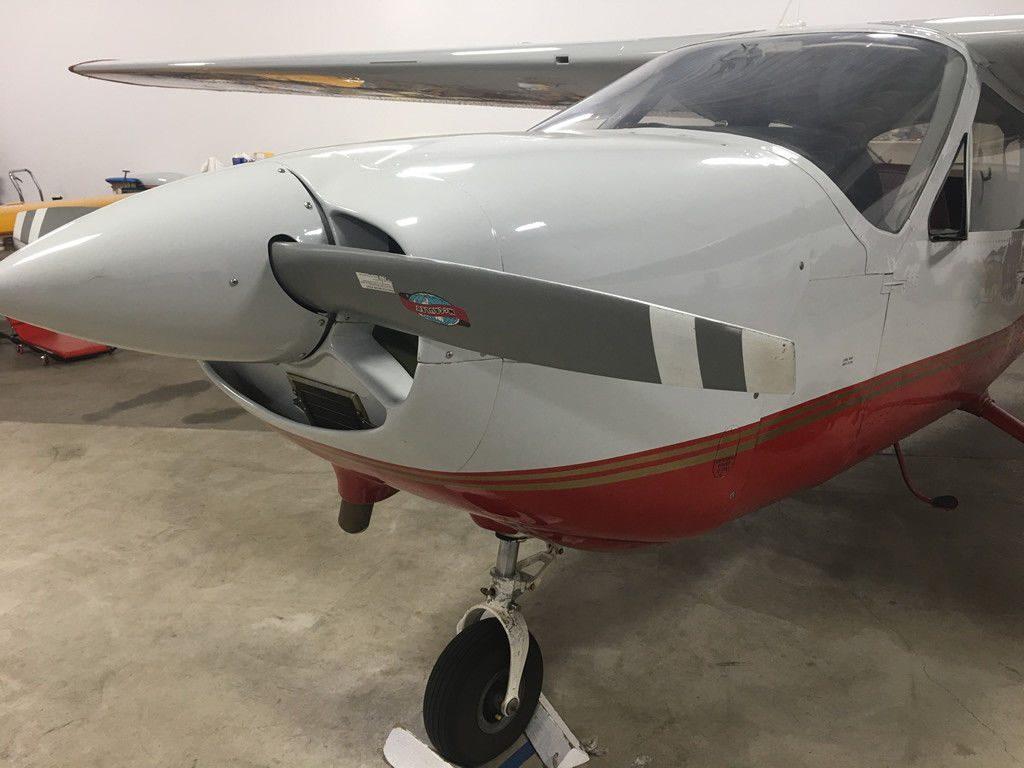 newer interior 1968 Cessna 177 Cardinal aircraft