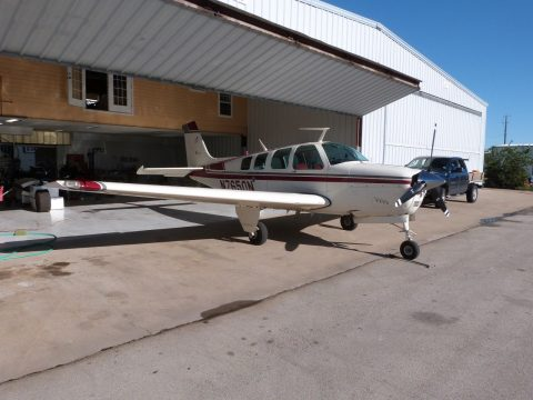 solid 1968 Beechcraft Bonanza 36 aircraft for sale