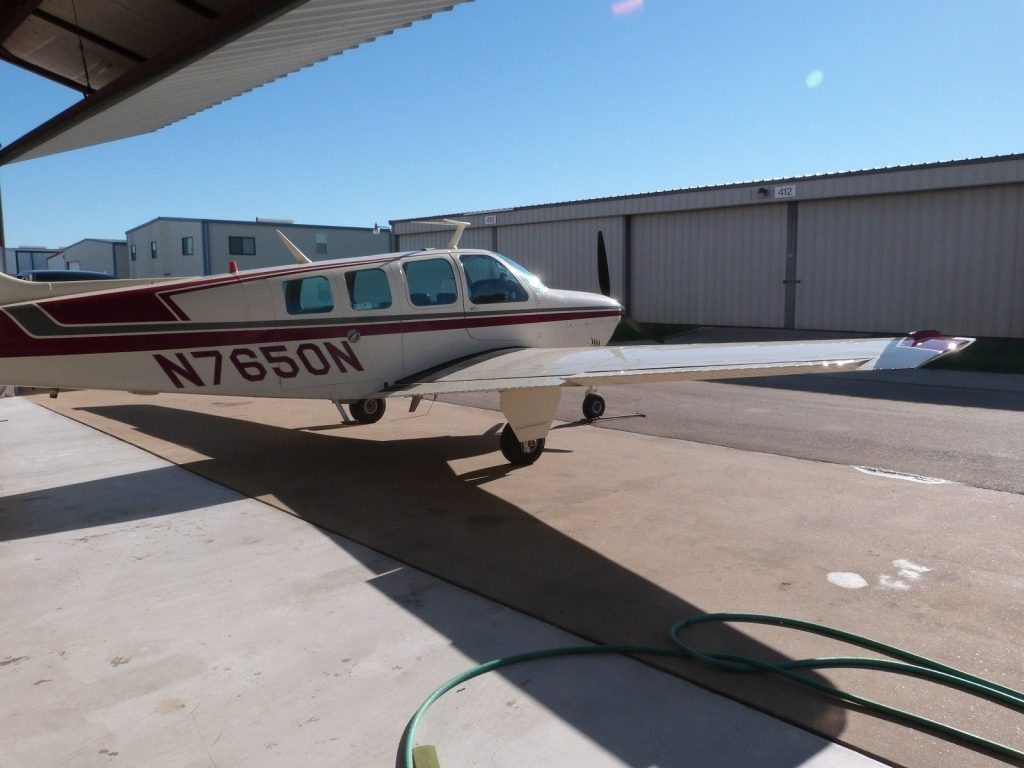 solid 1968 Beechcraft Bonanza 36 aircraft