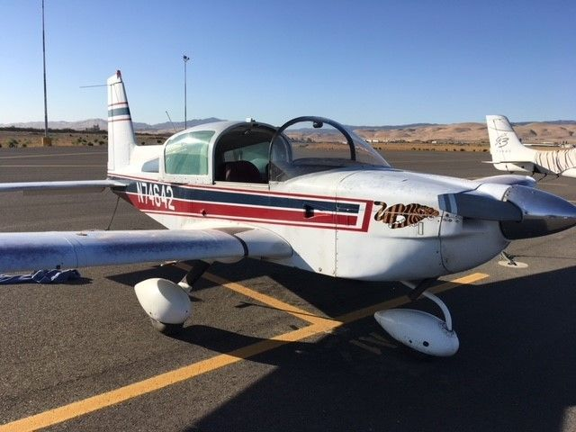 solid 1976 Grumman Tiger AA5B aircraft for sale