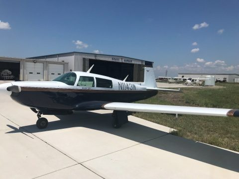 clean 1981 Mooney M20K Aircraft for sale