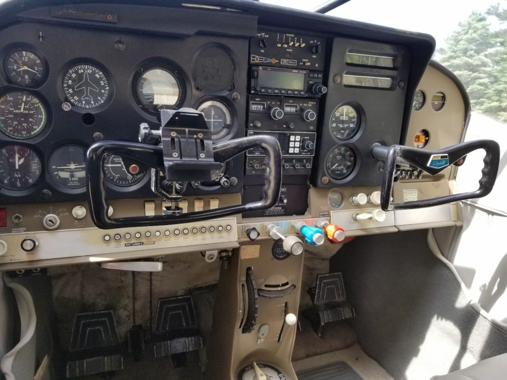converted 1966 Cessna 182H Seaplane aircraft