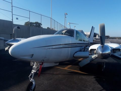 great shape 1973 Beech B 58 Baron aircraft for sale