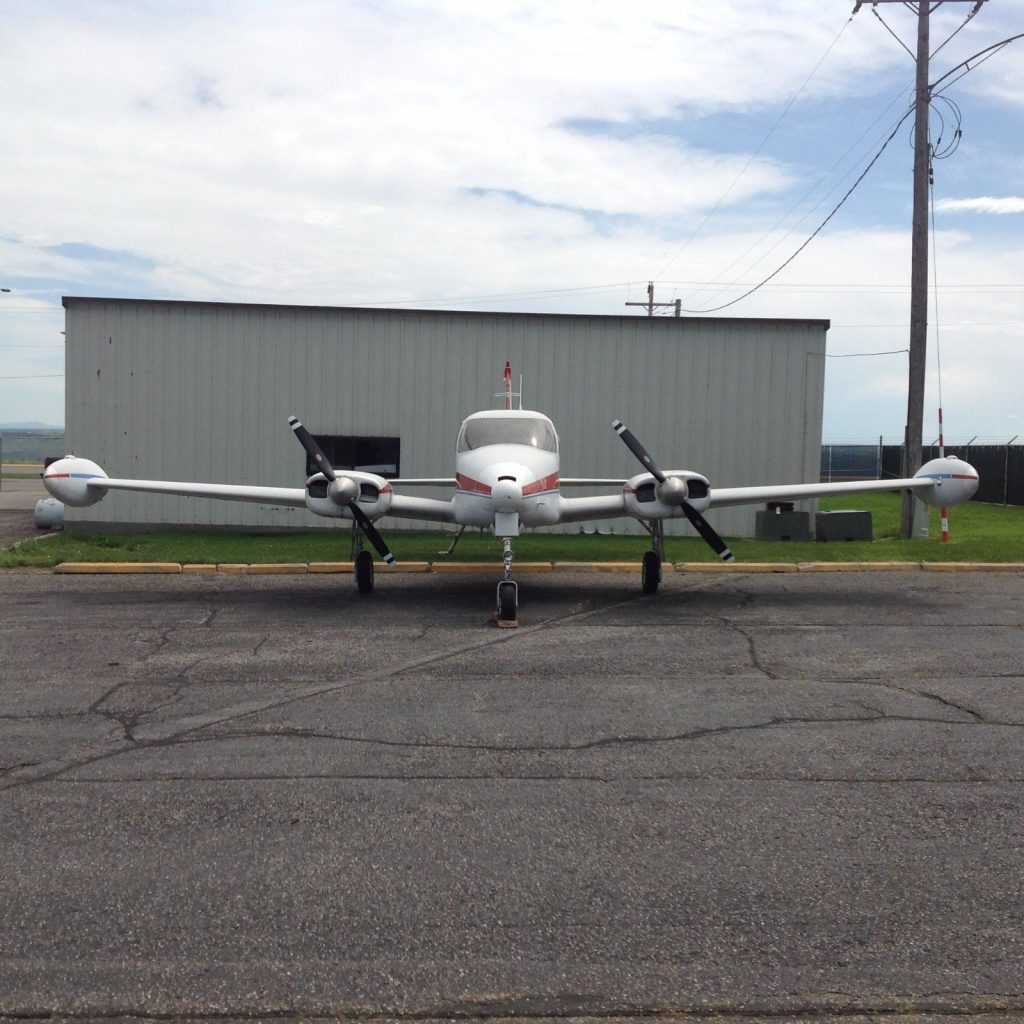 loaded 1960 Cessna 310D Multi Engine aircraft