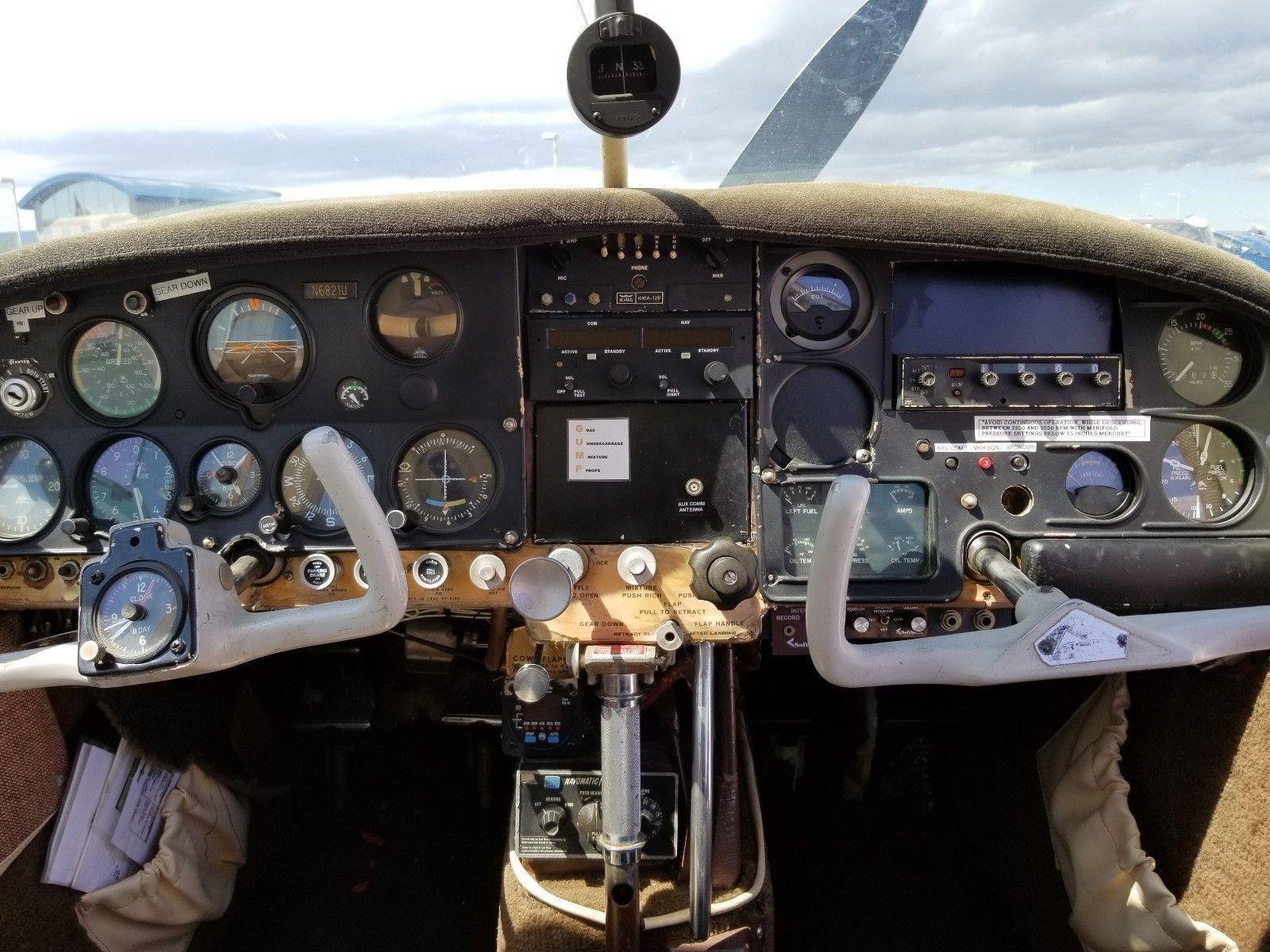 överhauled 1963 Mooney M20C aircraft