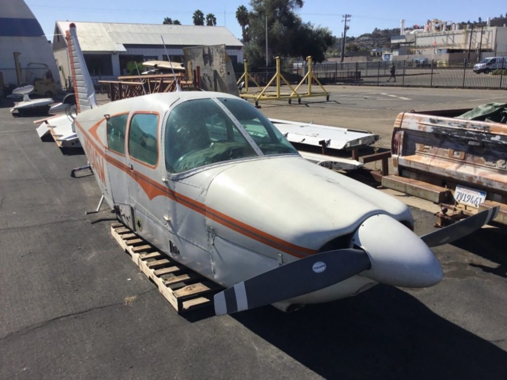 Project 1968 Piper Cherokee PA28 235 aircraft