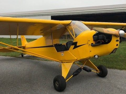 vintage 1941 Piper Cub aircraft for sale