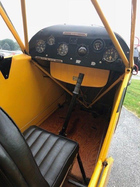 vintage 1941 Piper Cub aircraft