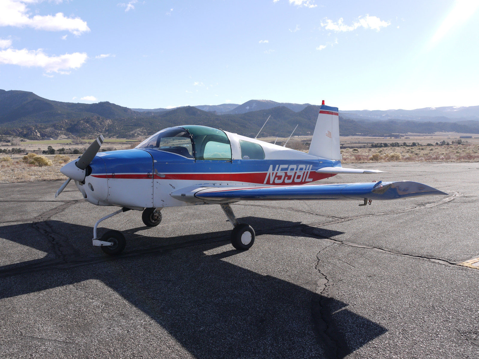 well equipped 1969 Grumman AA1 160HP aircraft for sale