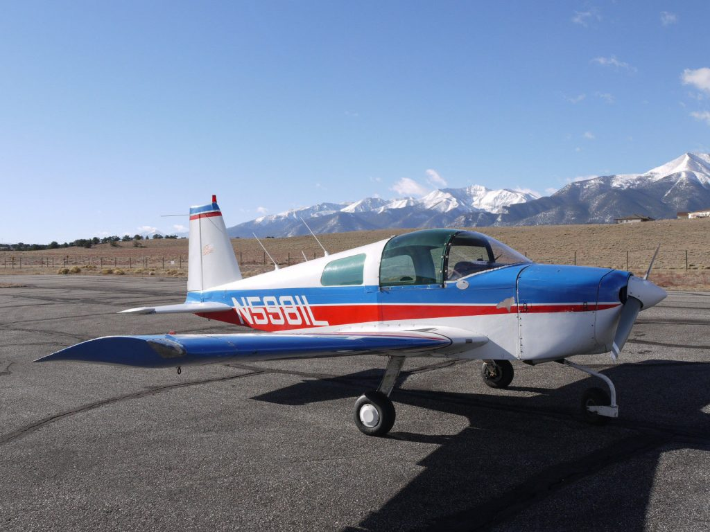 well equipped 1969 Grumman AA1 160HP aircraft