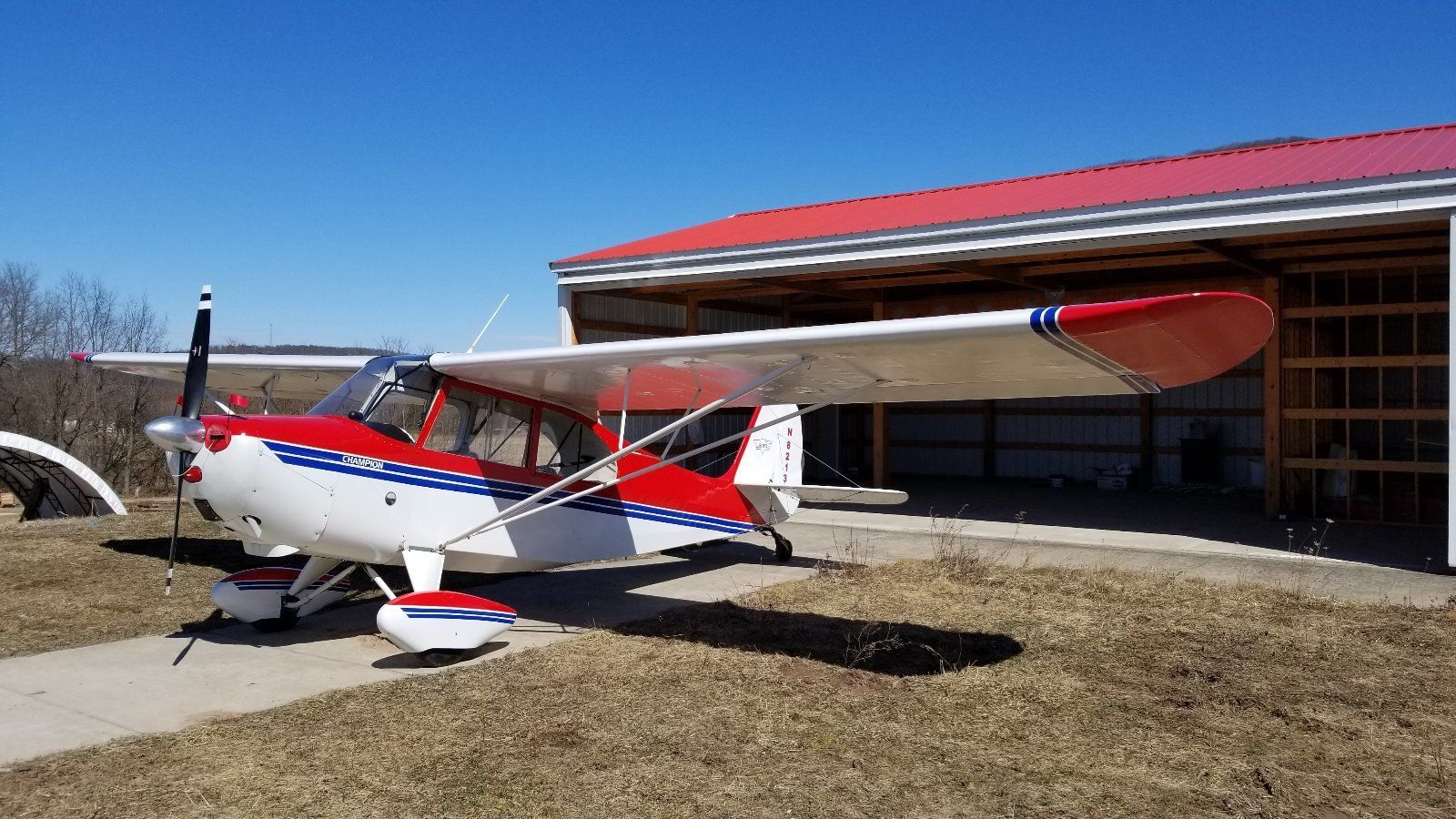 completely restored 1946 Aeronca Champ aircraft for sale