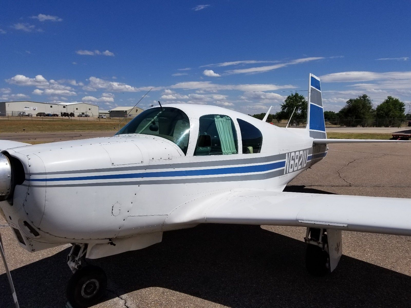 minor damage 1963 Mooney M20C aircraft for sale