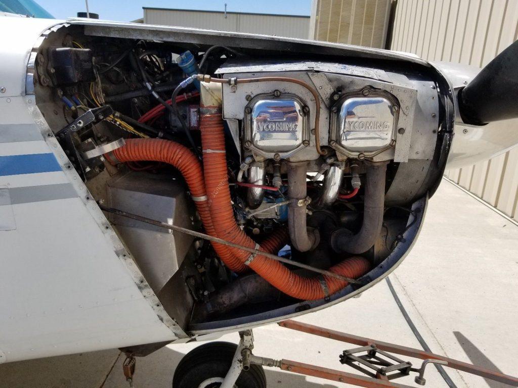 minor damage 1963 Mooney M20C aircraft