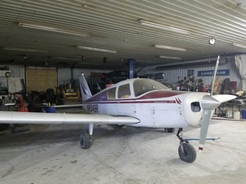 needs paint 1966 Piper Cherokee 140 aircraft for sale