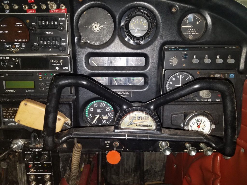 needs paint 1966 Piper Cherokee 140 aircraft