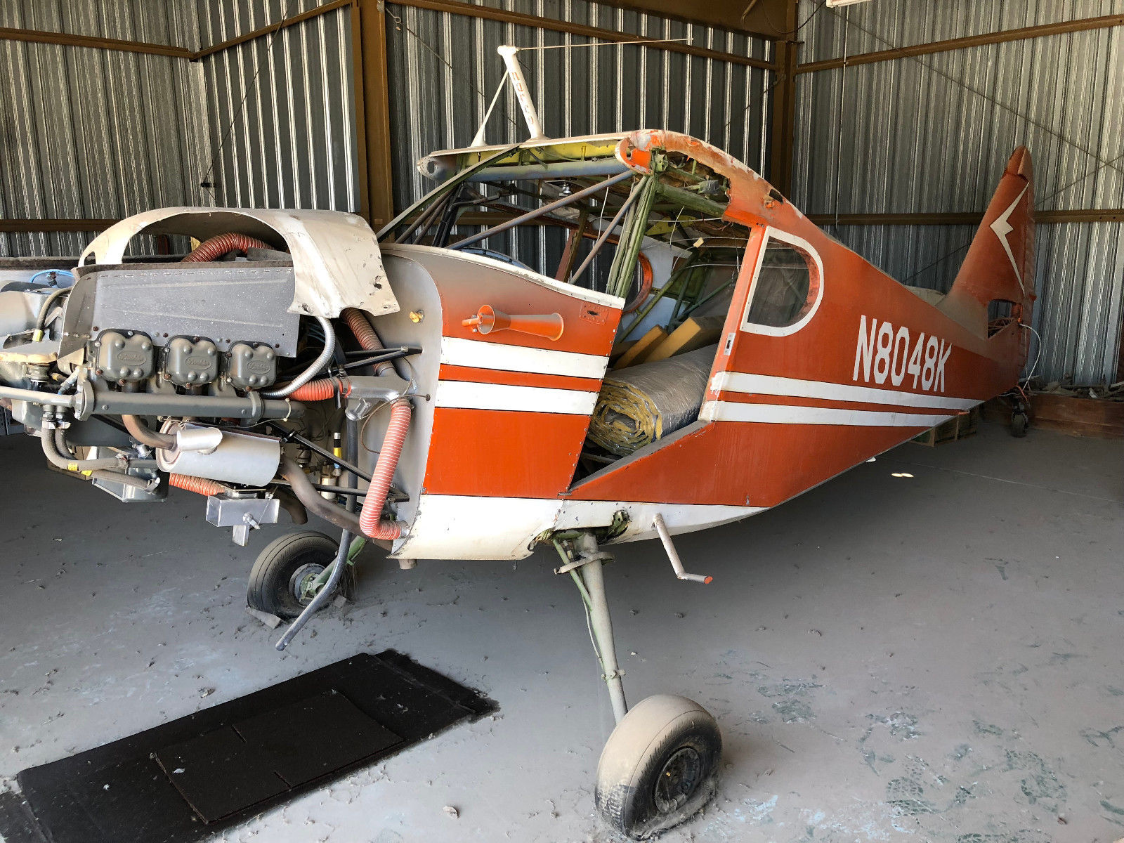 project 1947 Stinson aircraft for sale