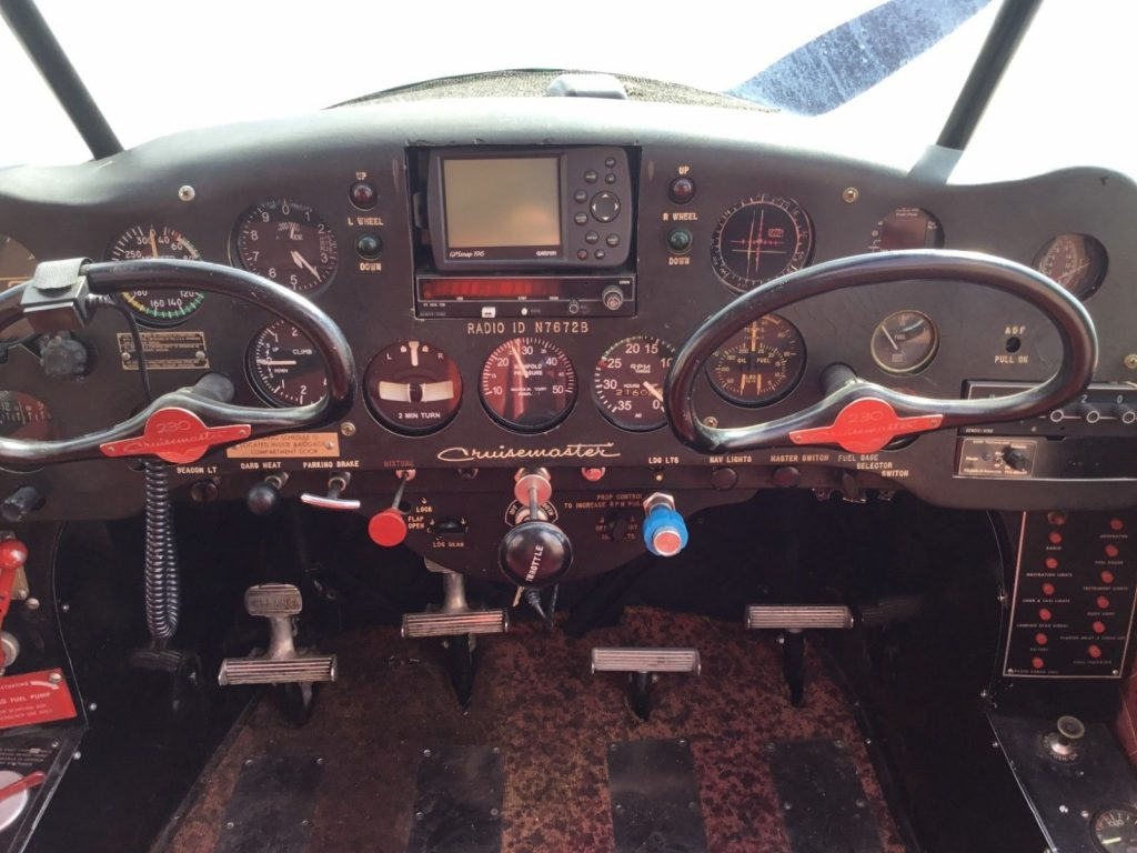 project 1957 Bellanca Cruisemaster aircraft