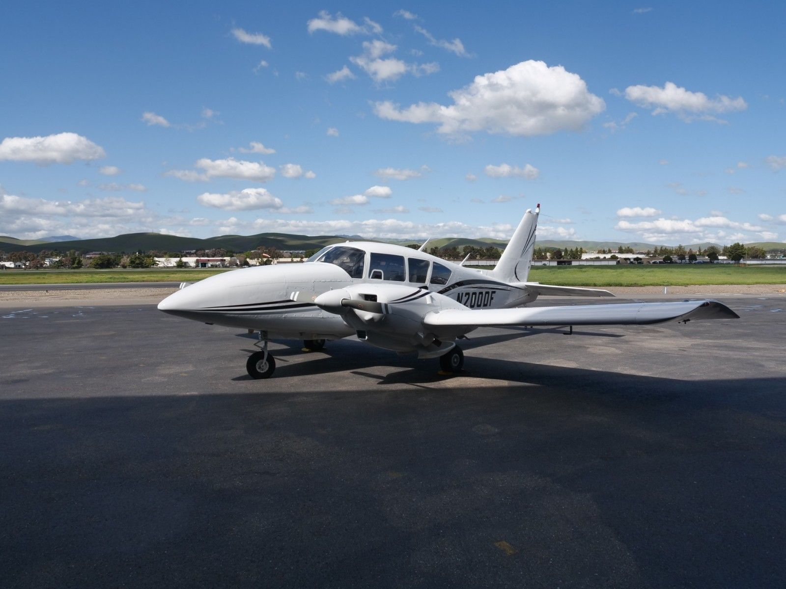 well serviced 1968 Piper Turbo Aztec aircraft for sale