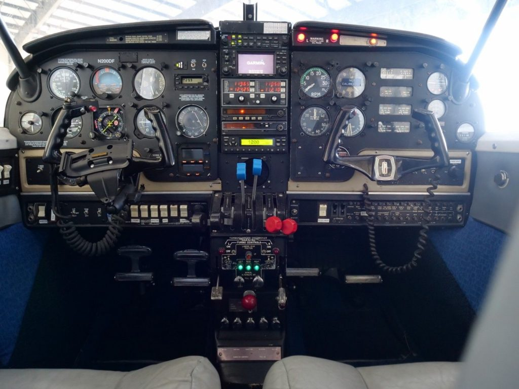 well serviced 1968 Piper Turbo Aztec aircraft
