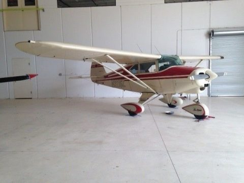 hangared 1959 Piper Tri Pacer aircraft for sale