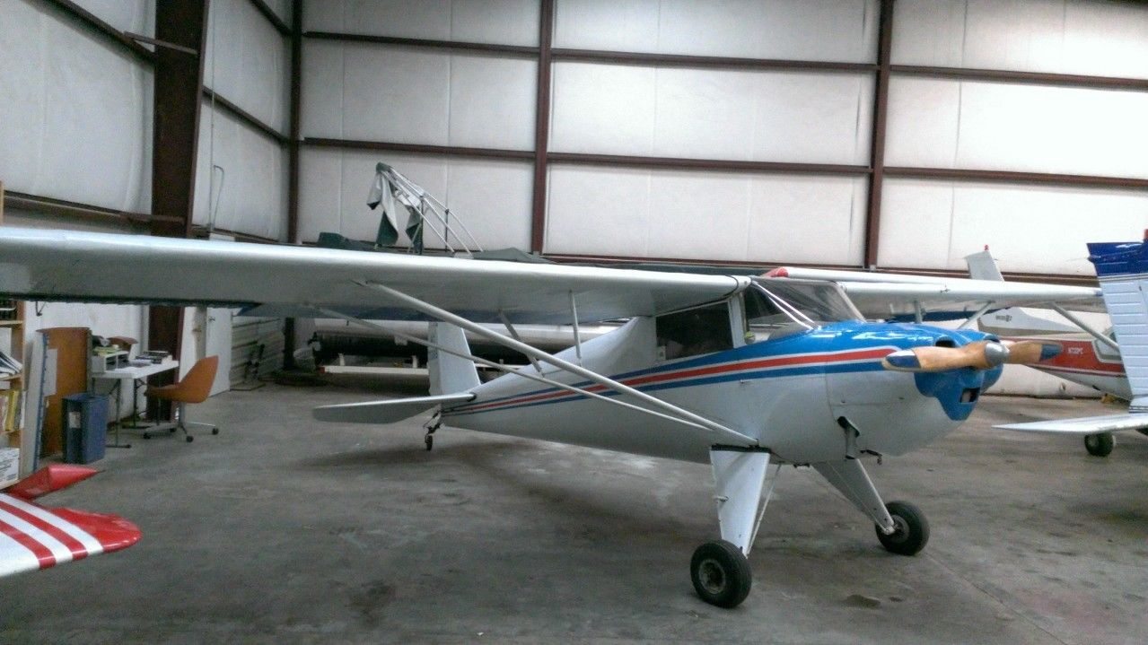 low time 1946 Luscombe 8A Light Sport Airplane aircraft for sale