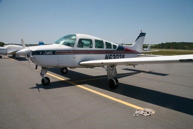 new propeller 1982 Beechcraft Sierra aircraft