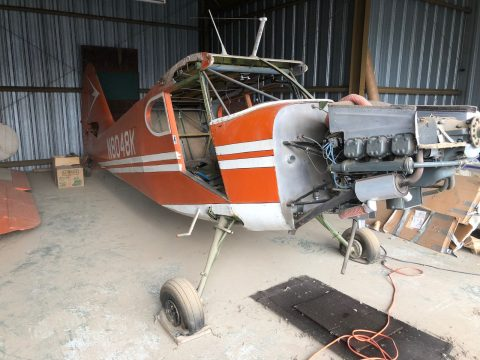 vintage 1947 Stinson Voyager 108 project aircraft for sale